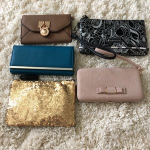 Handbags - Lot of clutches and wallets